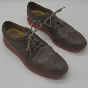Cole Haan Leather Wingtip Oxford Shoes